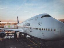 white airliner during daytime